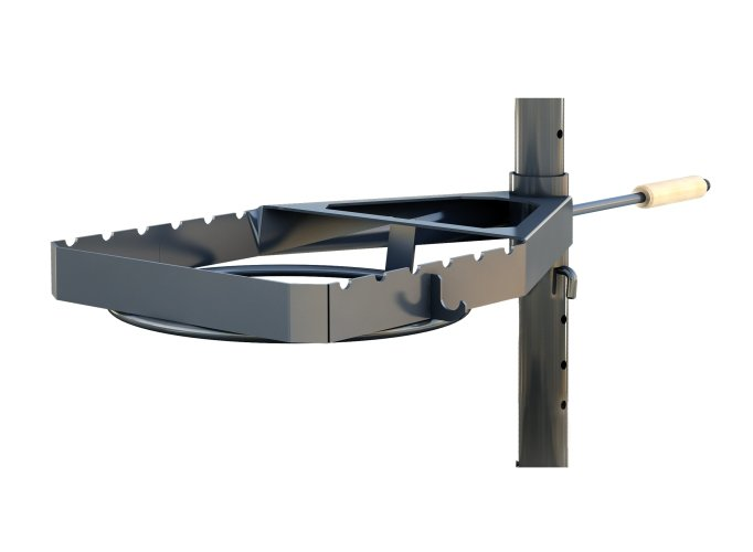 Grilling holder frame for fire pit